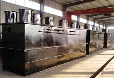 威海地埋一体化污水处理设备